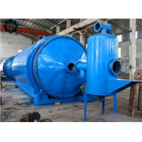 China 10ton 10T Used Tire Recycling Machine Waste Tyre To Fuel Oil Pyrolysis Plant wholesale