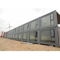 China 2mm PVC Floor Storage Container Homes Double Glazing Glass Door And Window wholesale
