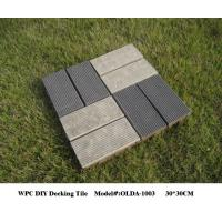 Buy cheap plastic wood composite decking material 30cm*30cm(OLDA-1003) from wholesalers