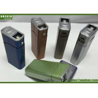 China Lighting Cigarette Case Mobile Power Bank Charger 4400mAh With ABS Material wholesale