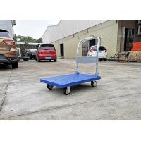 China PP Materials Plastic Folding Platform Hand Trolley With Silence Wheels , Carton Box Package on sale