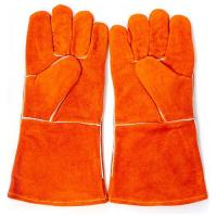 China Leather Safety Gloves on sale