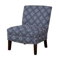 Solid Wood Country Style Chairs Multiple FabricWith High Density Foam