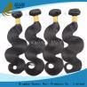 China Envío gratis indio negro de las extensiones del pelo de la Virgen ningún olor 8inches - 32 pulgadas wholesale