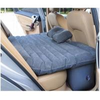 China 2014 New thick car Back seat cover inflatable mattress cushion car travel bed with inflator pump multi-function wholesale