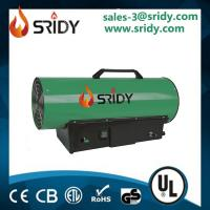 China Forced Air Kerosene Diesel Fuel Oil Gas Space Heater Torpedo Portable Industrial on sale
