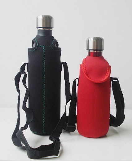 Quality Hot-selling High quality Neoprene Water bottle bag Drink bottle holder with strap for sale