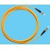 China 単信ジャンパーAPCの繊維光学パッチ ケーブル、FCのパッチ・コードの低い挿入へのFC wholesale