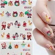 China Portable elegant Artificial Christmas nail sticker suppliers nontoxic for adults wholesale