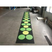 China Recycled Outdoor Rubber Mats , 15-60mm Thickness Rubber Gym Flooring Tiles on sale