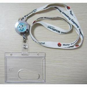 China Badge holders, PVC badge holder, Badge holder with lanyard, ID badge holder with lanyard wholesale
