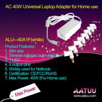 China 40W AC Universal Laptop Adapter with White Color and Mini Size -ALU-40A1F ( white ) wholesale