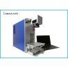 Buy cheap Original Ezcad Metal Laser Marking Machine , Fiber Color Small Laser Marker For from wholesalers
