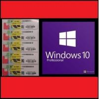 China OEM Version Windows 10 Pro Key Code COA Stickers With Lifetime Warranty wholesale