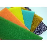 Color Dust Proof Air Filter Foam , Anti Radiation Insulation Industrial Foam Padding Polyether and polyester polyurethan