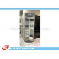 China Silver Rotate Round Wooden Display Stands For Mosaic Selling Painting Display wholesale