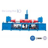 China High Efficiency Metal Briquetting Press / Hydraulic Briquette Press Blue Color on sale