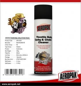 China Carburetor system spray cleaner, Carburetor Choke Cleaner, Carb And Choke Cleaner on sale