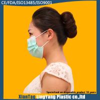 China Disposable Hospital Nonwoven One Time Use 3 ply Blue Earloop Face Mask wholesale