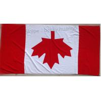 China Flag of Canada 21s 100% cotton beach towel  70*140cm wholesale