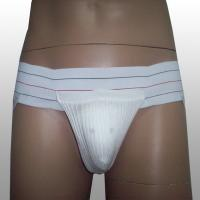 China Xl Size Athletic Supporter With Naturally Contoured Waistband For Comfort wholesale