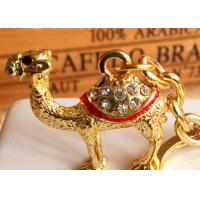 China Camel Design Key Chain Diamond - Encrusted Arab Cultural Personal Effects on sale