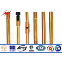 China Underground Copper Clad Steel Ground Rod Cover Clamps Lighting Protection wholesale