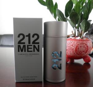 China designer perfume 212 men cologne 100ml on sale