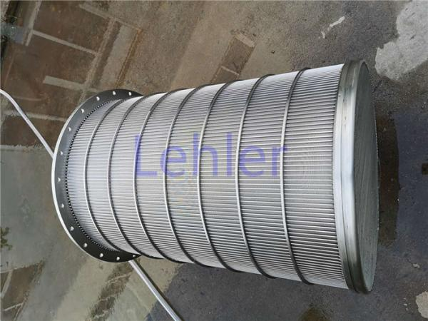 Quality Lehler Wedge Wire Basket High - Precision Slot Opening For Starch / Sugar Industry for sale