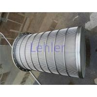 China Lehler Wedge Wire Basket High - Precision Slot Opening For Starch / Sugar Industry wholesale