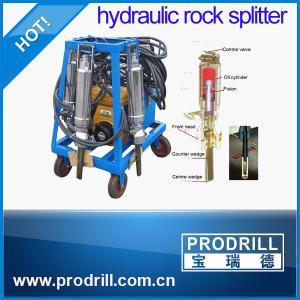 China hydraulic Diesel Rock Splitter Cylinder for Concrete Demolition Rock Splitting wholesale