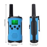 China Best price long range battery alert uhf two way radios clear talk outdoor game walkie talkie for children with giftbox wholesale