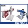 China Машина маркировки лазера волокна красного цвета портативная для вращая кольца маркировки wholesale