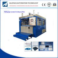 China 5-15 Mold / Min Plastic Vacuum Forming Machine For Food Container wholesale