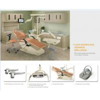 China Multi-function Control System Dental Chair Unit With Movable Double Arm Rest wholesale