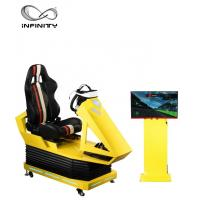 China Interactive 9D VR Car Racing Simulator For Adult / Children  1 Year Warranty wholesale