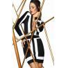 China Mini V Neck Bandage Dress Long Sleeve Breathable For Cocktail wholesale