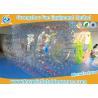 China Bola inflable de Zorb de la aguamarina clara transparente del agua, bola inflable del hámster para la gente wholesale