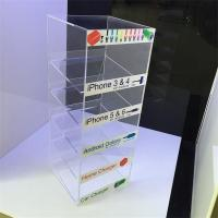 China hot sales customed design acrylic wall charger display stand on sale