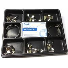 China Russian Original Stainless Tofflemire Matrix Band Dental Use 100 Pcs / Kit Pack wholesale