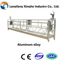 China suspended platform lift/ aluminum alloy platform/hoist suspended platform wholesale