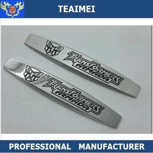 China OEM Metal Chrome Door Side Car Fender Emblems Auto Logo Label wholesale