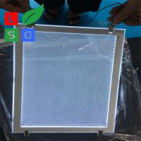 China Ceiling Hanging Crystal Led Light Box Slim Light Frame With Nice Appearance wholesale
