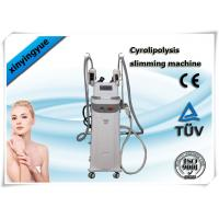 China Cavitaion RF Cryolipolysis Slimming Machine , body cryo fat freezing Machine wholesale