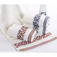 China Best quality 100 percent cotton terry face white towel for sale wholesale