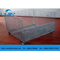 China Steel Structure Wire Mesh Cages 4.8 - 6.0mm Guage SGS Certification wholesale