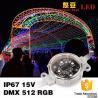 China 40mm extérieurs 50mm SMD3535 DMX Digital RVB ont mené le pixel IP67 imperméable wholesale