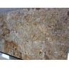 China Yellow Brown Granite Stone Slabs Granite Paving Slabs Polished wholesale