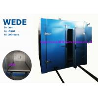 Double Doors Electric Powder Coating Oven , Trolley Style Resin Coating Machine