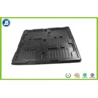 China Thermoformed Blister Plastic ESD Trays Compartment For Electronic wholesale